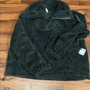 Free People pullover Sherpa